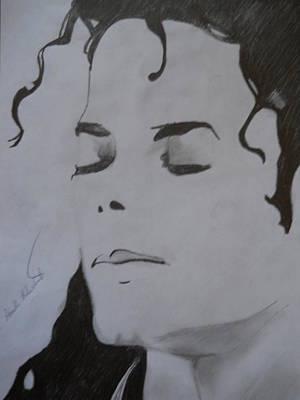 Michael Jackson Print by Ahmed Mustafa