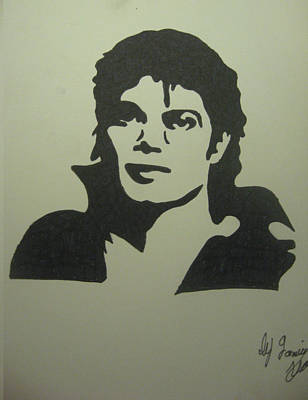 Michael Jackson Art Print by Damian Howell