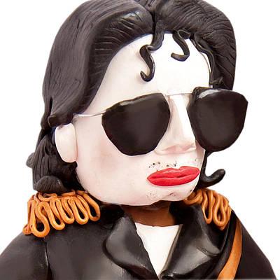 Jacko Sculpture - Michael Jackson by Louisa Houchen