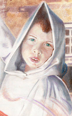 Drawing - Michael Of Libera by Jean Moore