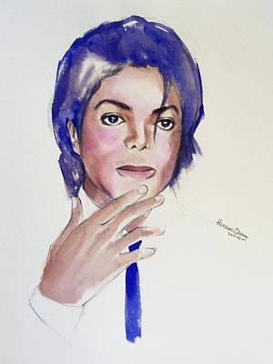 Fan Art Painting - Michael...1984 by Hitomi Osanai
