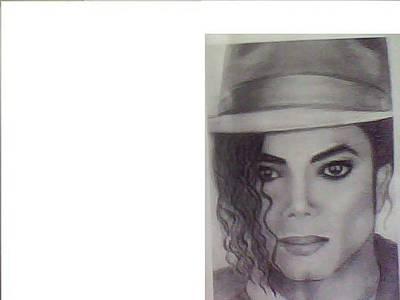 Mango Drawing - Michal Jackson by Spruthi ranjan Pradhan