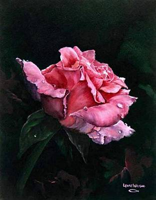 Michele's Rose Art Print