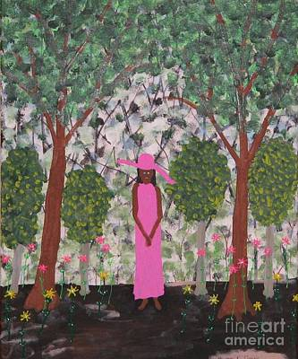 Michelle Obama First Lady Art Print by Gregory Davis