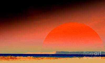 Photograph - Michigan Dunes Sunset by Greg Moores