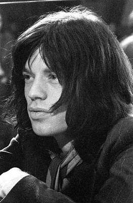 Mick Jagger 1968 Print by Chris Walter