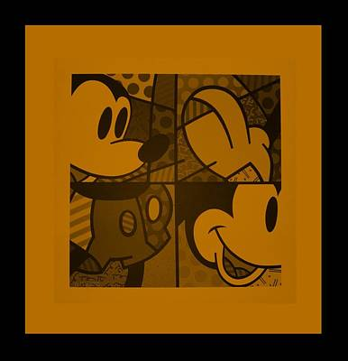 Photograph - Mickey In Orange by Rob Hans