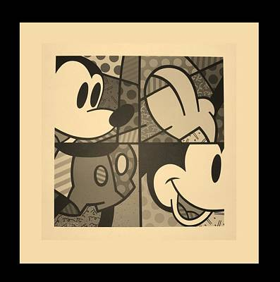 Photograph - Mickey In Sepia by Rob Hans