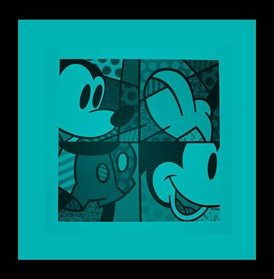 Photograph - Mickey In Turquois by Rob Hans