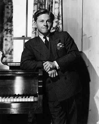 Mickey Rooney, Circa 1940 Art Print by Everett