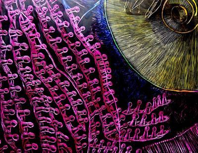 Micro Beetle Phase Two Art Print by Lisa Brandel