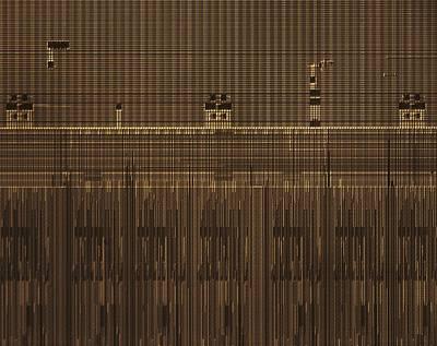 Integrated Photograph - Microchip, Light Micrograph by Robert Markus