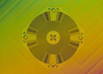 Micromechanical Accelerometer Art Print by Volker Steger