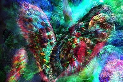 Digital Art - Microscope Dreaming 2 by Russell Kightley