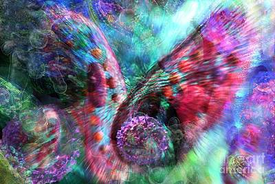 Digital Art - Microscope Dreaming 3 by Russell Kightley
