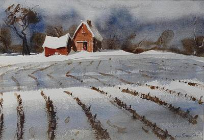 Painting - Mid January by Len Stomski