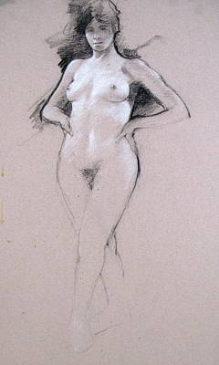 Drawing - Mid Tones by Cliff Spohn