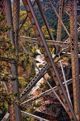 Midgley Bridge Oak Creek Canyon Art Print