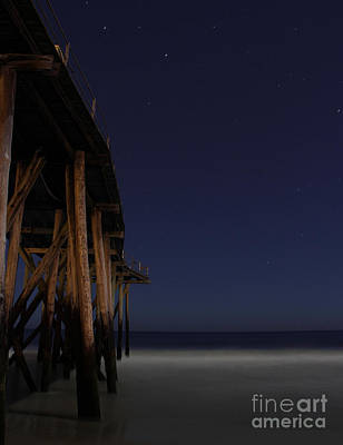 Photograph - Midnight At Pier 3 by Lee Dos Santos