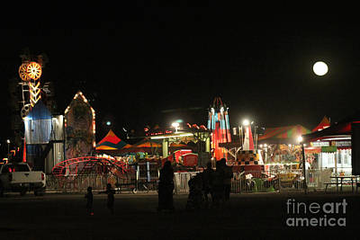 Photograph - Midnight Carnival by Alycia Christine