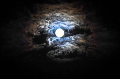 Photograph - Midnight Moon 2 by Ronda Broatch