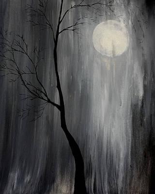 Painting - Midnight Rain by Gray  Artus