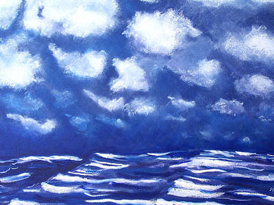 Midnight Sea Art Print by Jon Shepodd
