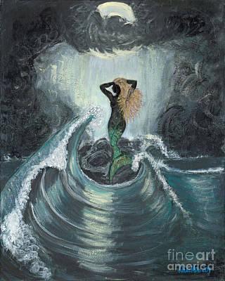Painting - Midnight Secrets by Ania M Milo