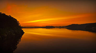 Norway Photograph - Midnight Sunset by Andy Astbury