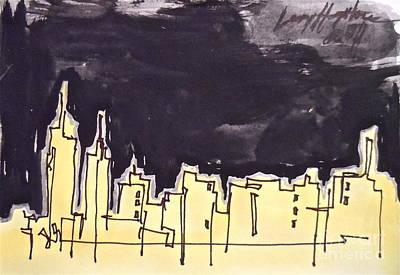 Midtown Art Print