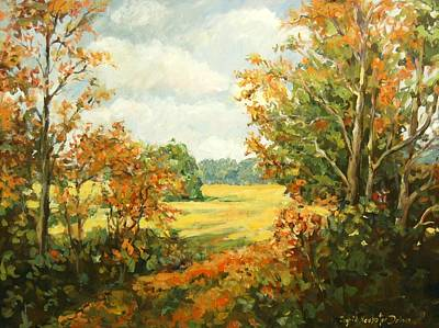 Painting - Midway Village IIi by Ingrid Dohm