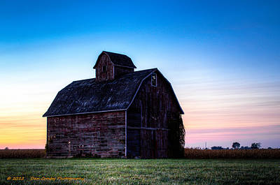 Photograph - Midwest Sun Down by Dan Crosby