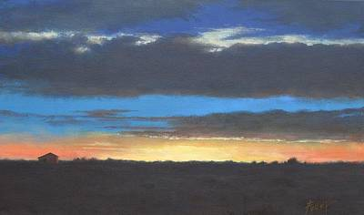 Painting - Midwestern Sunset by Gene Foust