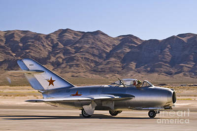 Photograph - Mig - 15 by Tim Mulina