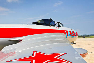 Photograph - Mig-17 Fighter Jet by John Waclo