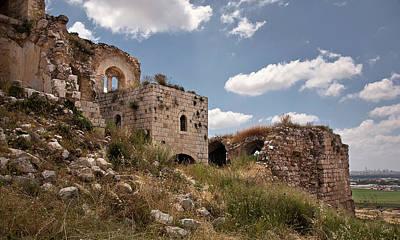 Photograph - Migdal Tzedek Ruins 3 by Endre Balogh