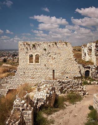 Photograph - Migdal Tzedek Ruins 5 by Endre Balogh