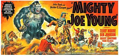 Mighty Joe Young, Banner Poster Art Art Print by Everett