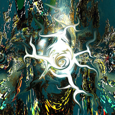 Defects Digital Art - Migraine by Erik Tanghe