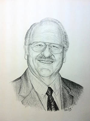 Drawing - Mike Ivey by Mike Ivey