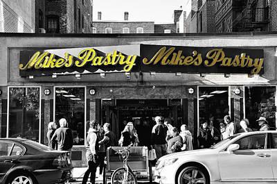 Mikes Pastry In Boston 2011 Art Print by Joseph Duba