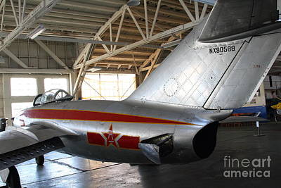 Photograph - Mikoyan Guryevich Mig-15bis Fighter Plane 7d11185 by Wingsdomain Art and Photography
