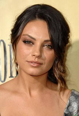 Mila Kunis At Arrivals For Extract Art Print