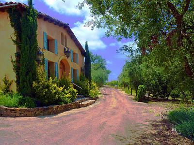 San Diego Photograph - Milagro Winery Ramona by Russ Harris
