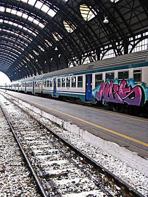 Photograph - Milan Italy Fine Art Print by Ian Stevenson