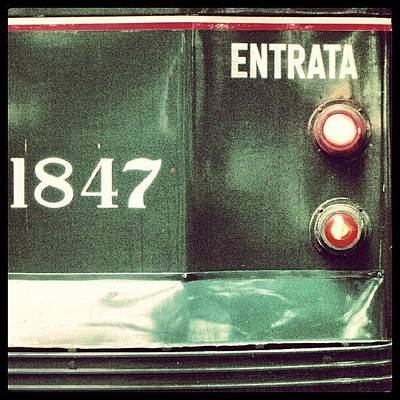 Icon Wall Art - Photograph - Milan, Tram. Details #milano #igers by Tram Milano