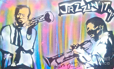 Conscious Painting - Miles Davis In Living Color by Tony B Conscious