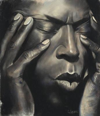 Miles Davis Original by L Cooper