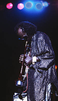 Photograph - Miles Davis On The Stage by Dragan Kudjerski