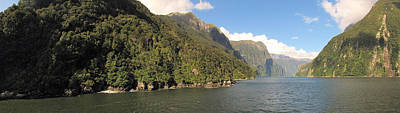 Photograph - Milford Sound Nz 3 by C H Apperson